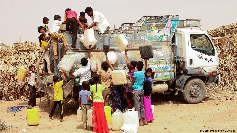 The conflict has displaced as many as 33 million Yemenis and 241 million need aid  Photo Getty ImagesAFPEAhmed