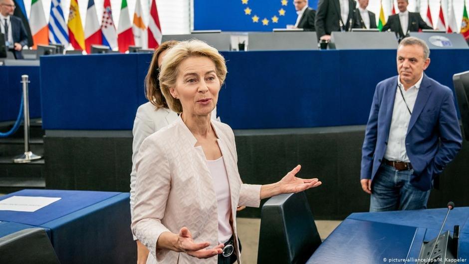 اورزولا فون دیرلاین، رئیس جدید کمیسیون اتحادیه اروپا