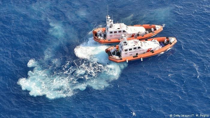 The Italian Coast Guard continues to run rescue operations in the Mediterranean