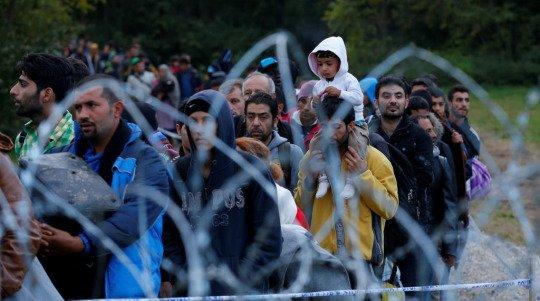 Depuis fin mars, les migrants arrivant en Hongrie sont sytématiquement placés en rétention.Crédit : Reuters