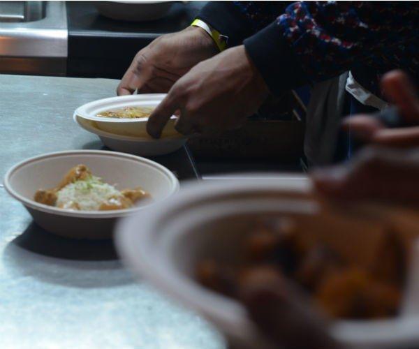 Soul Food Paris a fêté, dimanche 23 février, ses deux ans au restaurant L'Ami Jean. © Ratiba Hamzaoui / France 24