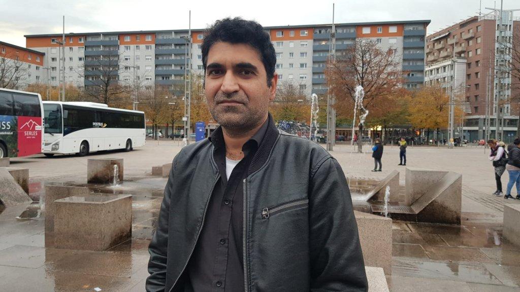 Sajid Khan dans le centre-ville de Salzbourg en Autriche Crdits photo  Aasim Saleem