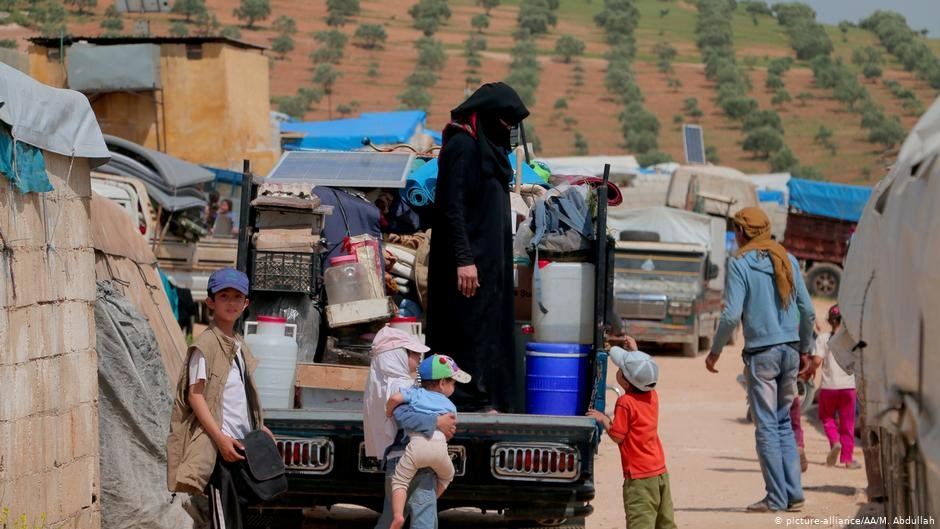 Half of the 3 million civilians in Idlib were displaced from other parts of Syria | Photo: Picture-alliance / AA/ M. Abdullah