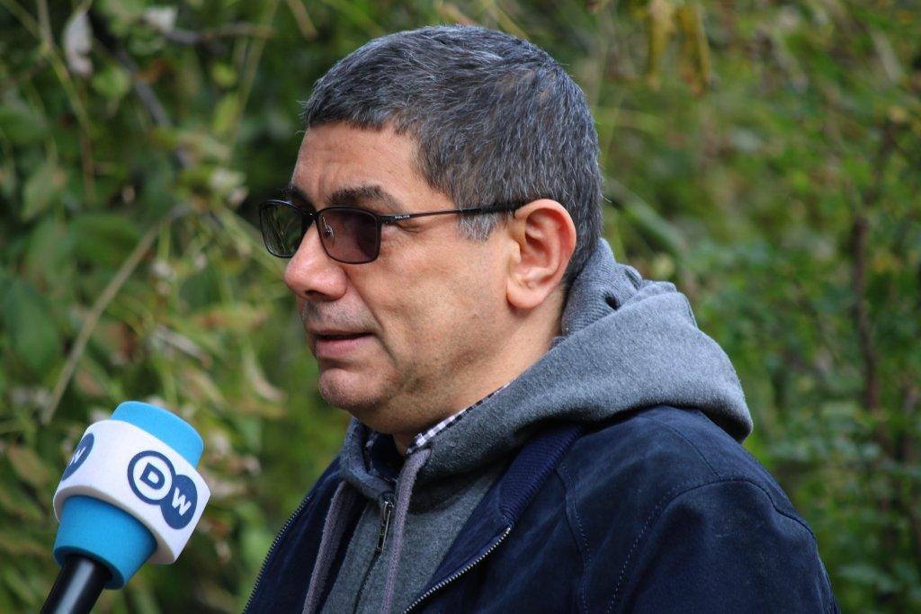 Syrian journalist, Mazen Rifai. Photo: Cristian Stefanescu