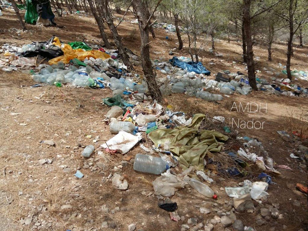 Le campement dAfrah  Nador Crdit  AMDH