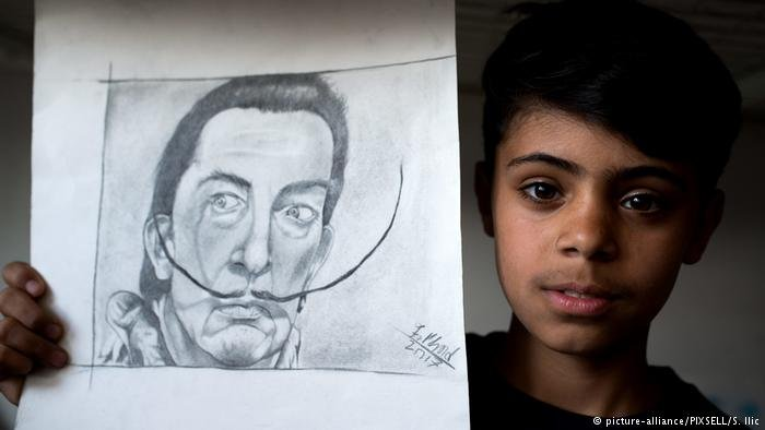 Farhad  hopes to study painting, photography and languages