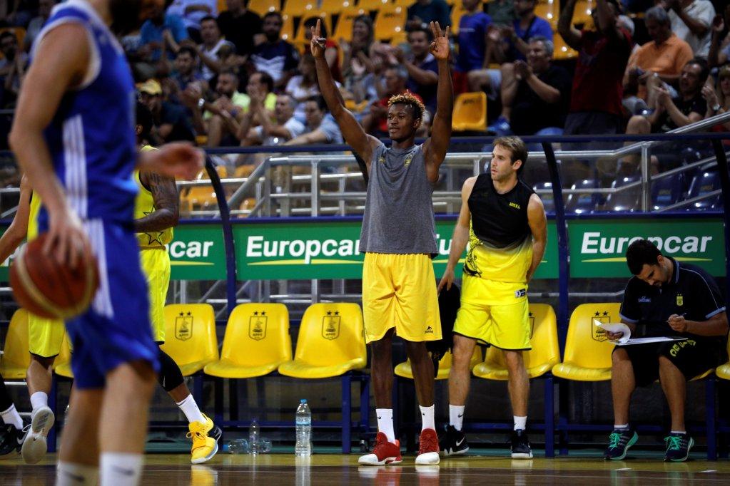 """""""J'adorerai rencontrer mes idoles Kobe Bryant et Kevin Durant"""". Crédit : Reuters"""