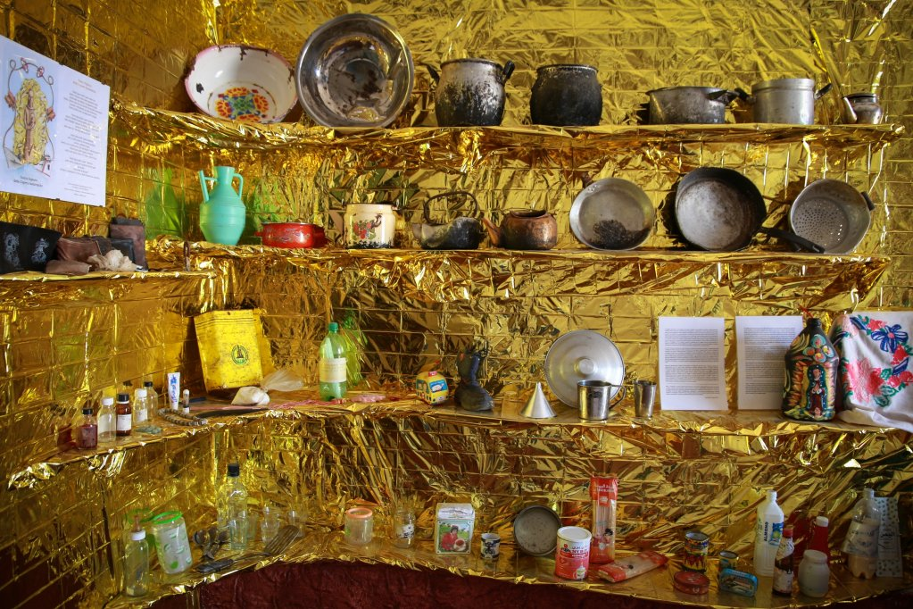 Objects at the PortoM migration museum on Lampedusa  Photo Ignacio Pereyra