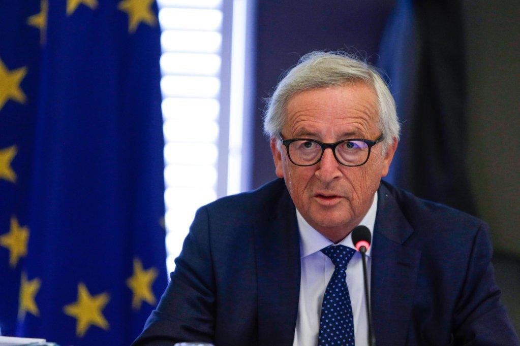 ANSA / جان كلود يونكر رئيس المفوضية الأوروبية. المصدر: إي بي أيه/ إيريس أويكو نومو.