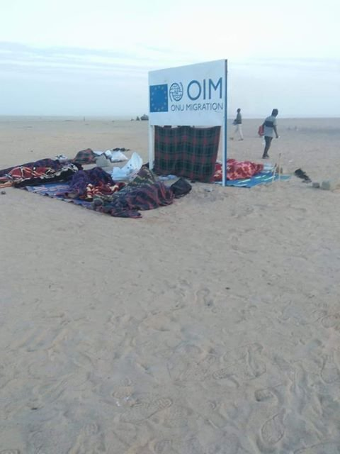 Photo envoyée par notre Observateur au camp d'Arlit.