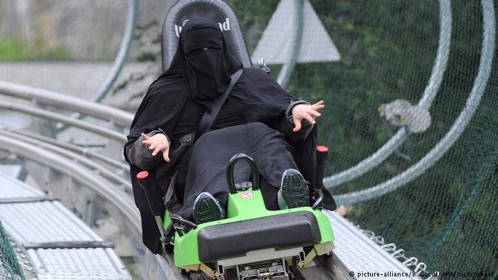In Austira, the full face veil is banned from public spaces as of October 1