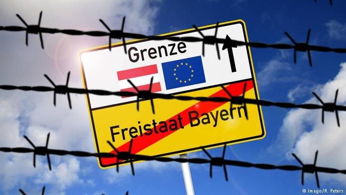 الحدود الألمانية مع النمسا