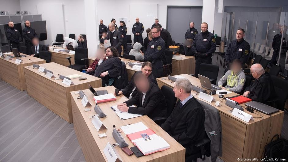 The first trial of members of the far-right German terror group Freital ended in 2018 | Photo: Picture-alliance/dpa/S.Kahnert