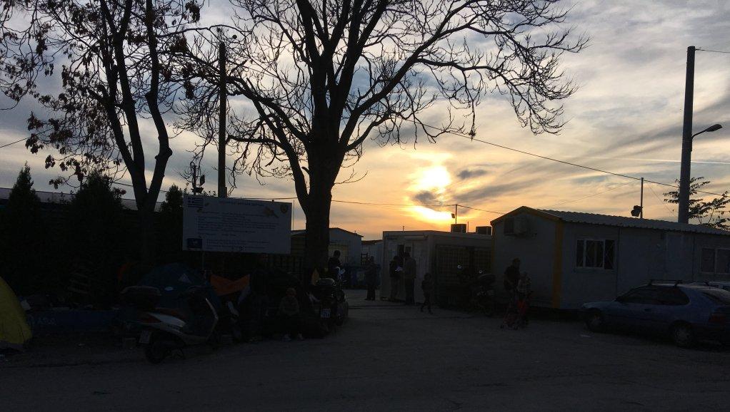 Greece Elioanis camp- sunset
