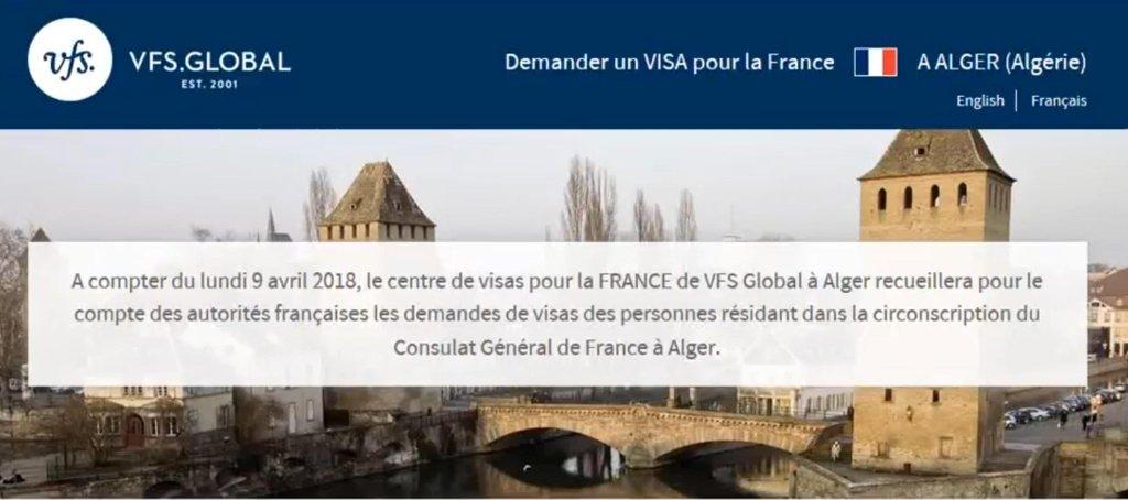 ansa / القنصلية الفرنسية العامة في الجزائر تفتتح مركزا لتسهيل منح التأشيرات