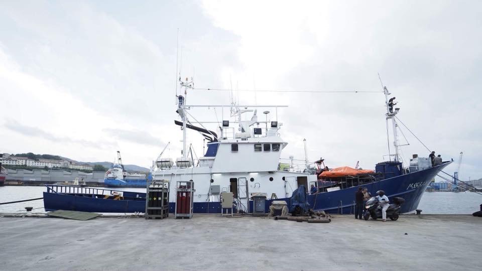 LAita Mari est actuellement amarr au au port de Pasaia dans le pays basque espagnol Crdit  Maydayterraneo