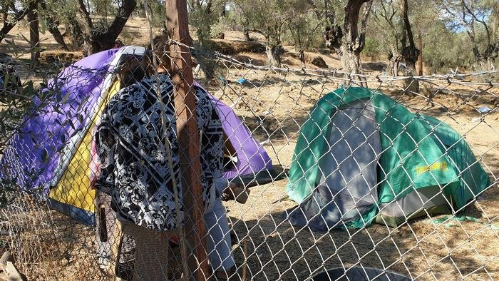 The Moria camp on Lesbos is one of those that is to be closed   Photo: Amanullah Jawad