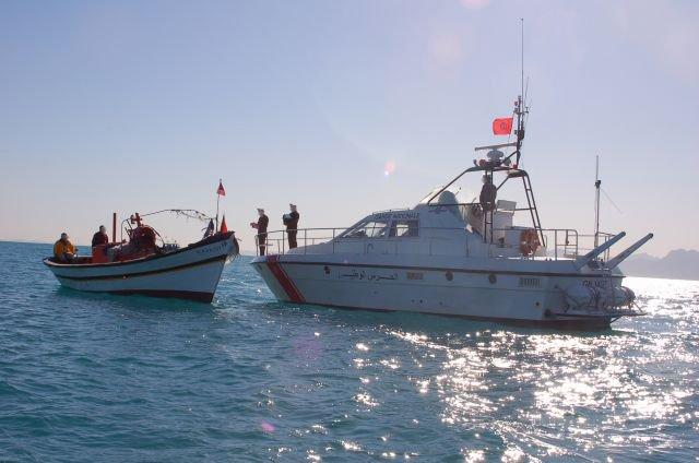 الموقع الالكتروني لوزارة الداخلية التونسية | خفر السواحل تحبط عملية ابحار خلسة
