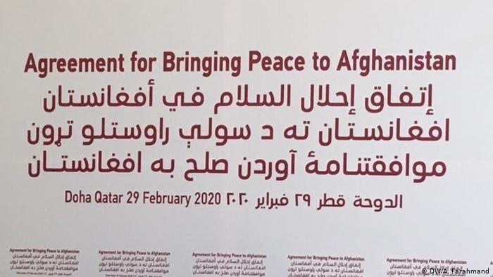 توافقنامه آوردن صلح میان طالبان و امریکا به تاریخ ۲۹ فبروری ۲۰۲۰ امضا شد.