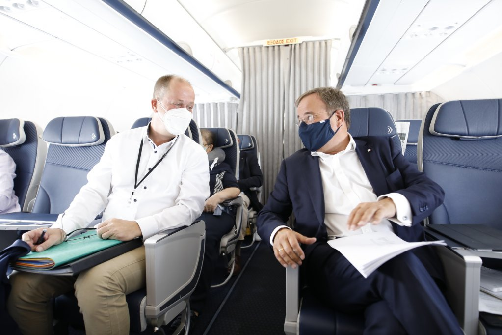 Armin Laschet and his migration minister Joachim Stamp fly to Greece for a visit | Photo: NRW State Press