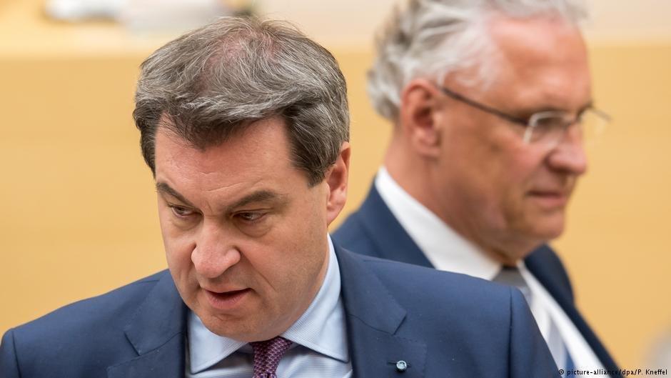 Bavaria's premier Markus Söder