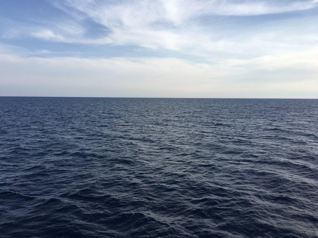 Image d'illustration de la mer Méditerranée. Crédit : InfoMigrants