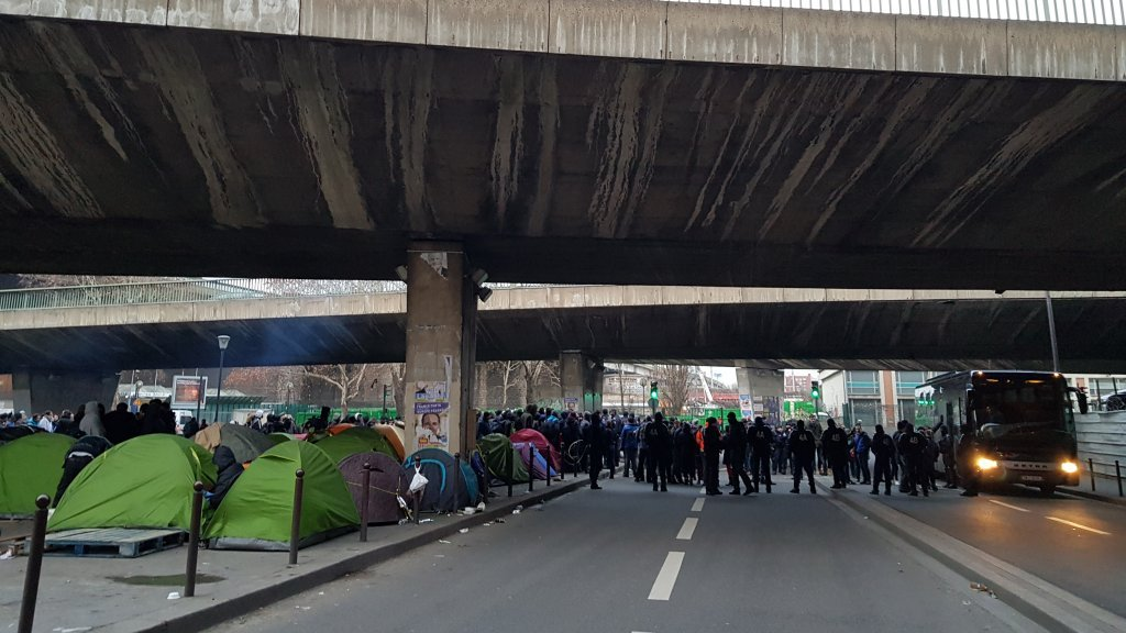 Thousands of migrants live in the north-east of Paris in inhumane conditions say associations who work with migrants Recently the authorities say they will be pushign for a zero return policy  Photo InfoMigrants