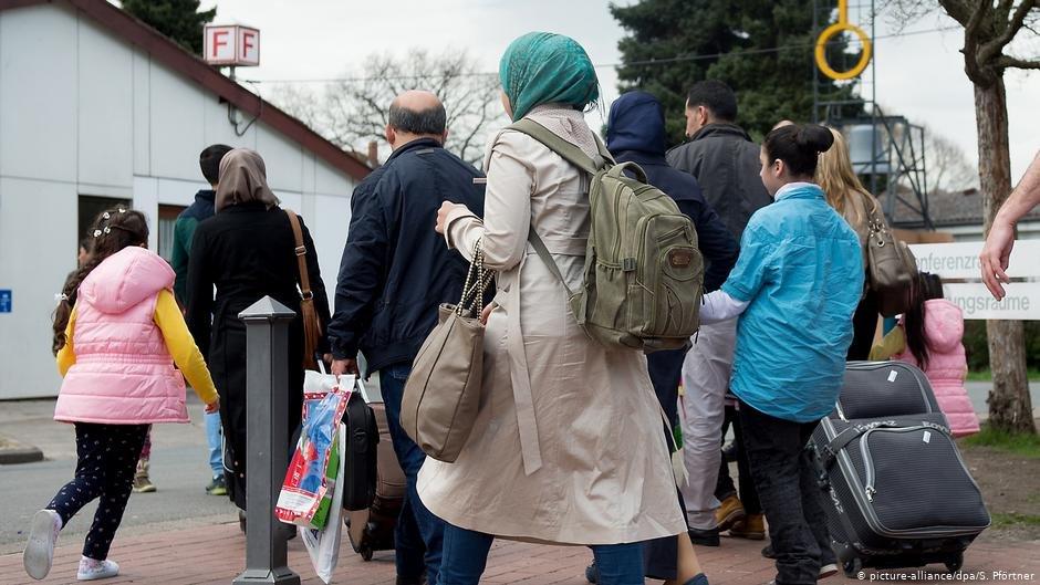 Syrian refugees in Gttingen  Photo Picture-alliancedpaSPfrtner