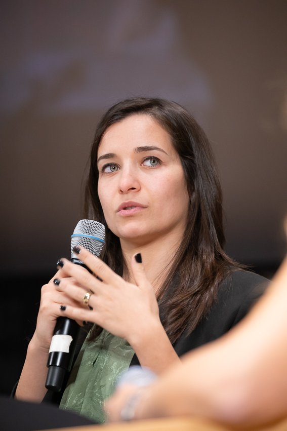 Waad Al Kateab discute du film For Sama  Photo  avec la permission de la campagne Action for Sama