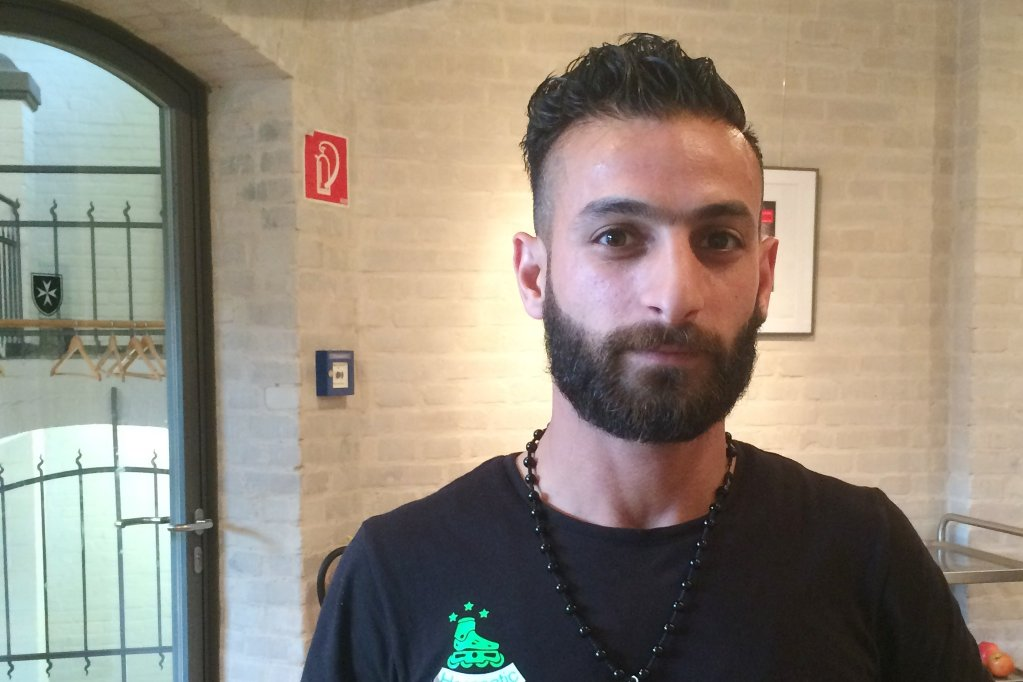 Muhammad from Syria hopes his friends will join the project