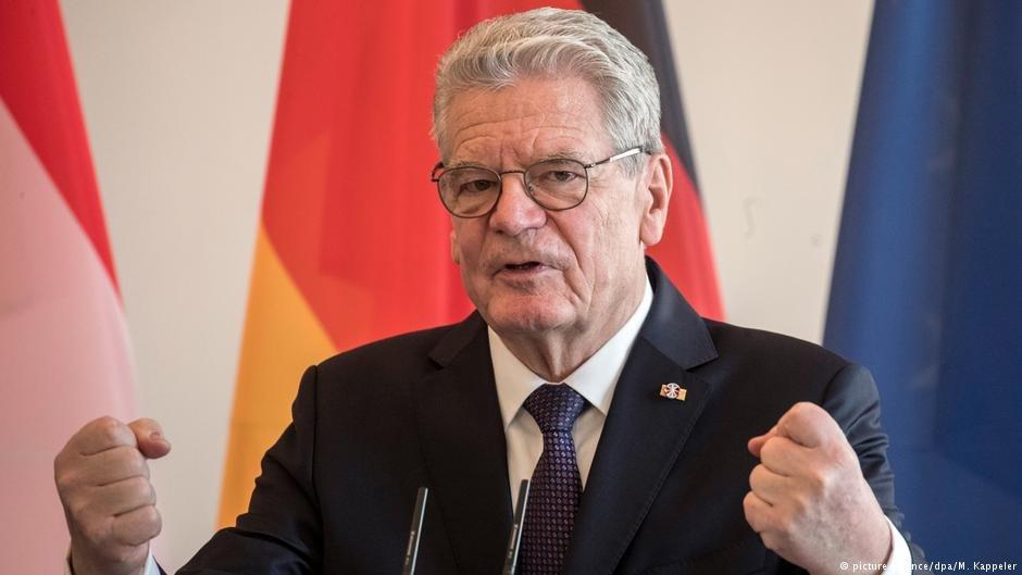 یواخیم گاوک، رئیس جمهور پیشین آلمان