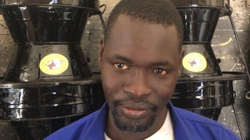 Massaer Gueye now runs a successful business in Dakar Copyright: ARD/ Marc Dugge