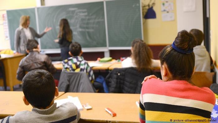 تلاميذ في مدرسة ألمانية
