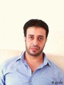 اللاجئ السوري خالد الجوهري ...في انتظار نتائج امتحان المستوى الرابع B2