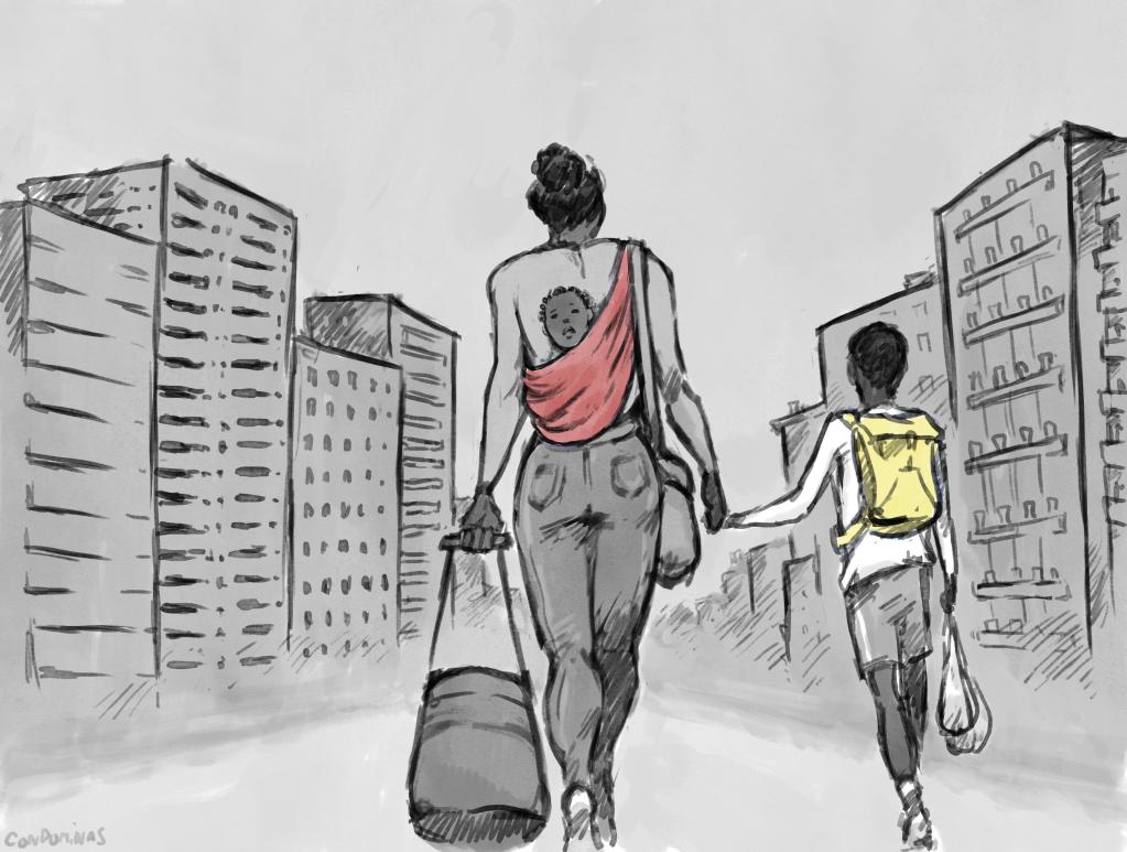 Quand elle obtiendra la réponse de sa demande d'asile, Affoussata devra sans doute déménager de nouveau avec ses enfants.