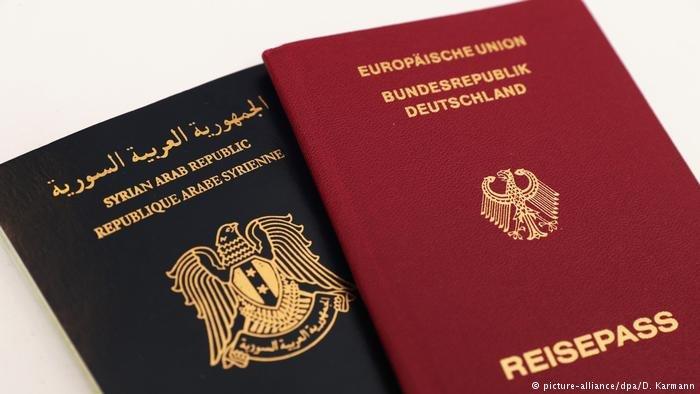 الجوازان الألماني والسوري