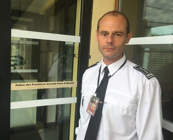 Alexis Marty le chef de la division immigration de la police aux frontires  Roissy Crdit  InfoMigrants