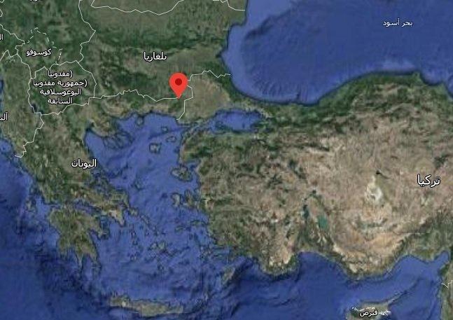 موقع المطاردة بين الشرطة اليونانية وسيارة المهاجرين/خرائط غوغل