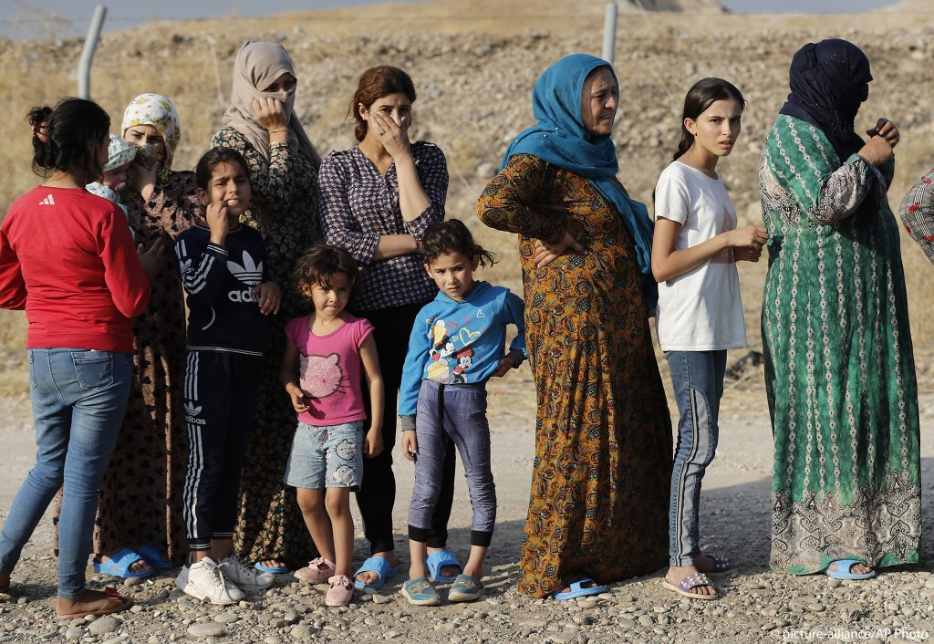 The displaced Kurds have to wait for even the most basic services in refugee camps  Photo picture-allianceAP Photo