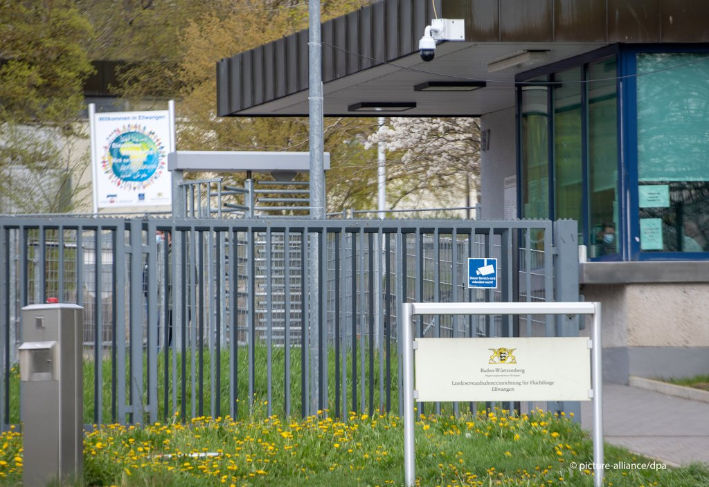 In the asylum seeker reception center in Ellwangen in Baden-Wrttemberg at least 400 of the 600 residents have tested positive for coronavirus The center was placed under quarantine  Photo picture-allianceS Puchner
