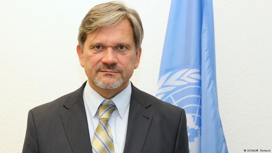 دومینیک مارچ نماینده کمیساریای عالی سازمان ملل در امور پناهندگان برای آلمان.