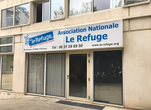 The Refuge operates out of this site in Montpellier in southern France Credit InfoMigrants