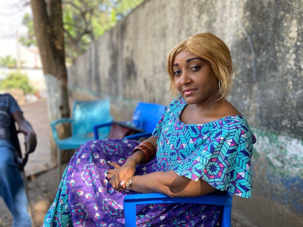 Cynthia Evelyne Ekra est la fondatrice de Stay in Africa. Crédit : Anne-Diandra Louarn / InfoMigrants