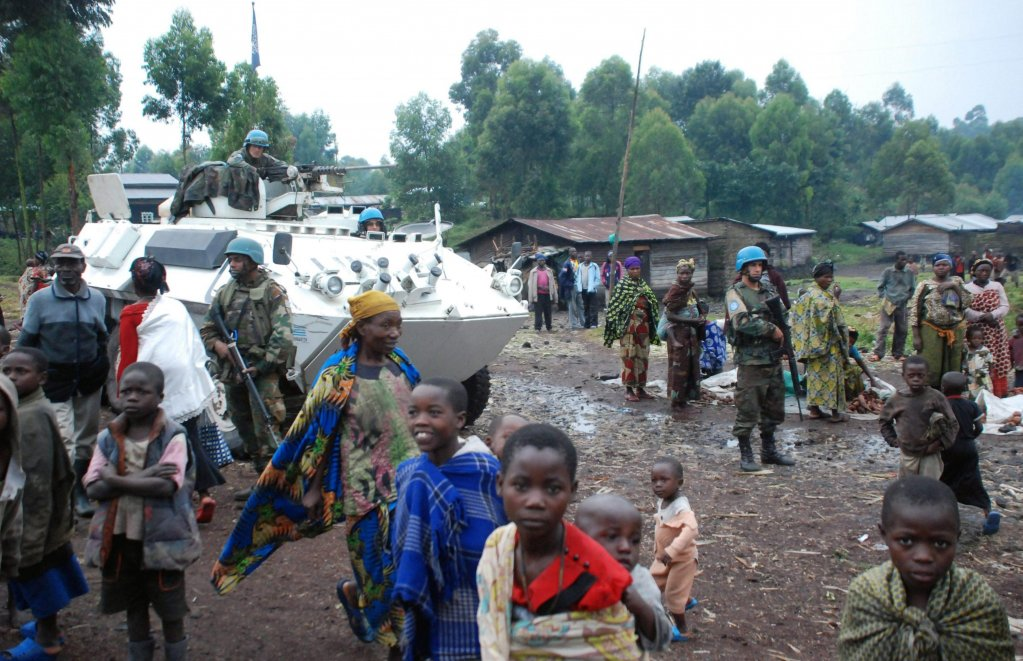 Refugees displaced near the provincial capital Goma, in Congo DRC | Credit: ARCHIVE/EPA/Alain Wandimoyi
