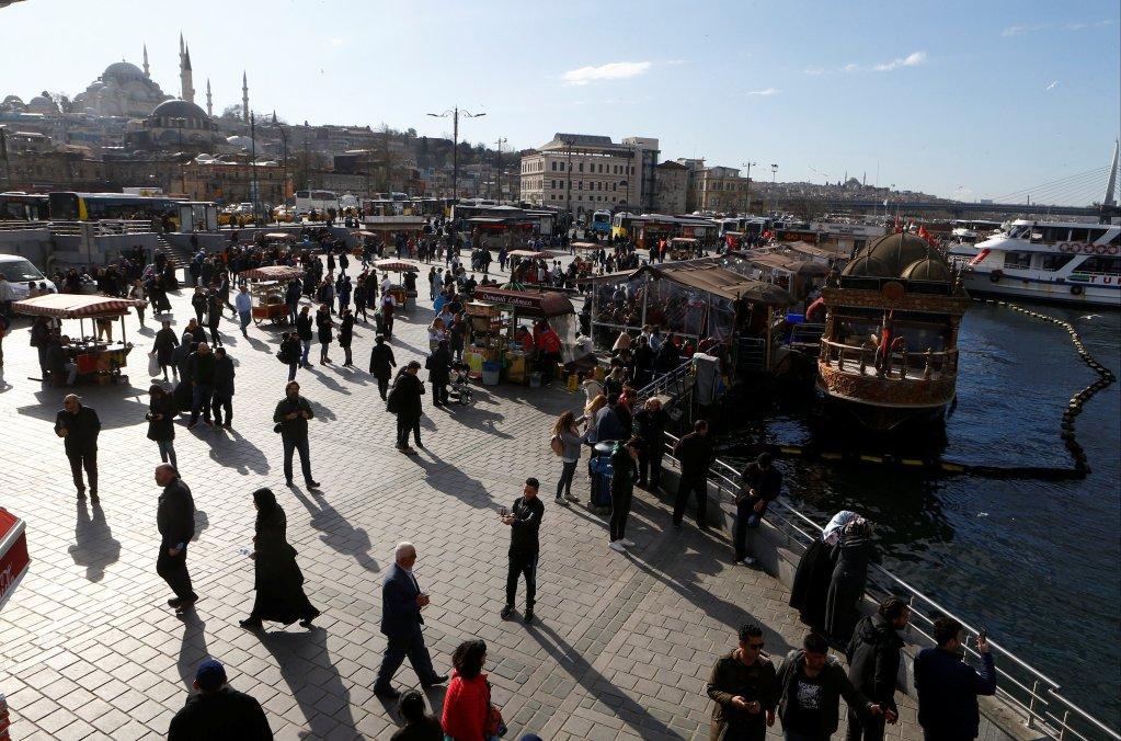 REUTERS/Osman Orsal |Vue du quartier d'Eminonu, à Istanbul.