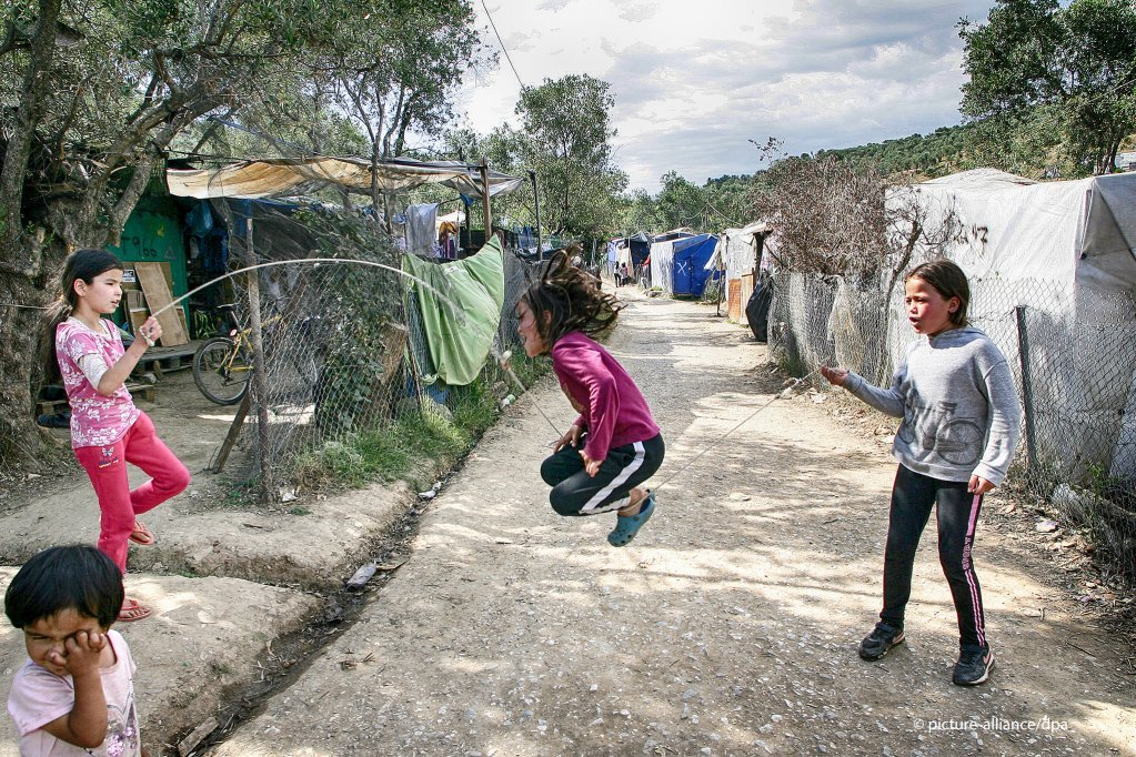 Le camp de Moria juin 2020  Photo  picture-allianceG Siamidis