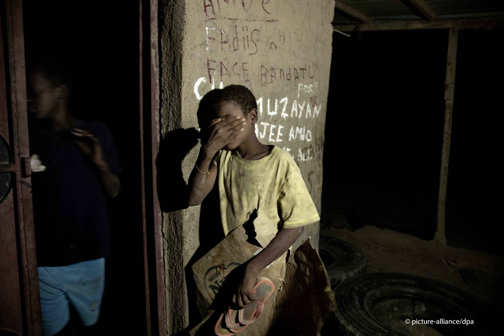 13-year old Ethiopian migrant Barakat Youanas who crossed at night from Ethiopia into Djibouti  Photo picture-allianceAP PhotoNariman El-Mofty