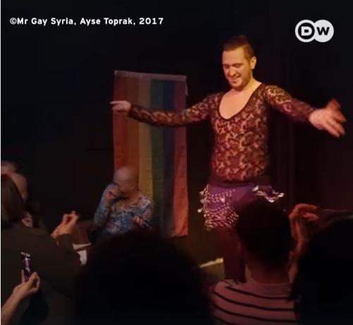 مسابقة جمال للاجئين السوريين المثليين
