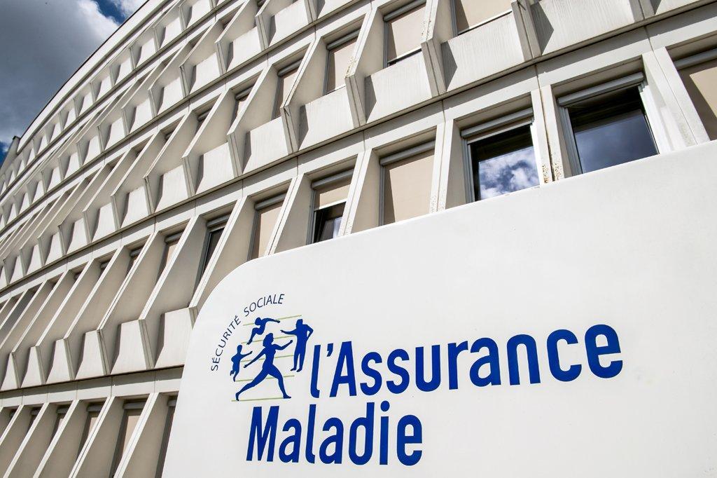 PHILIPPE HUGUEN / AFP |Un immeuble de la Caisse primaire d'assurance maladie (image d'illustration).
