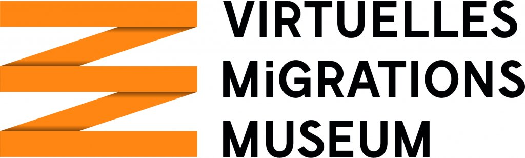 Le logo du Muse virtuel de la migration Crdit DOMID eV